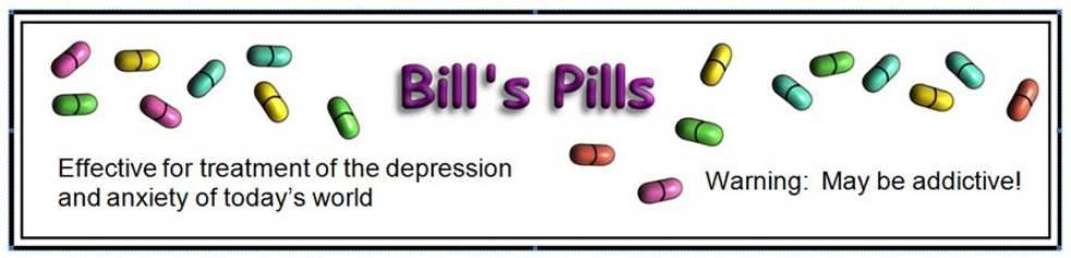 Bill's Pills
