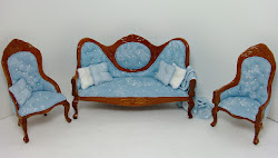 Wedgewood Blue Parlor