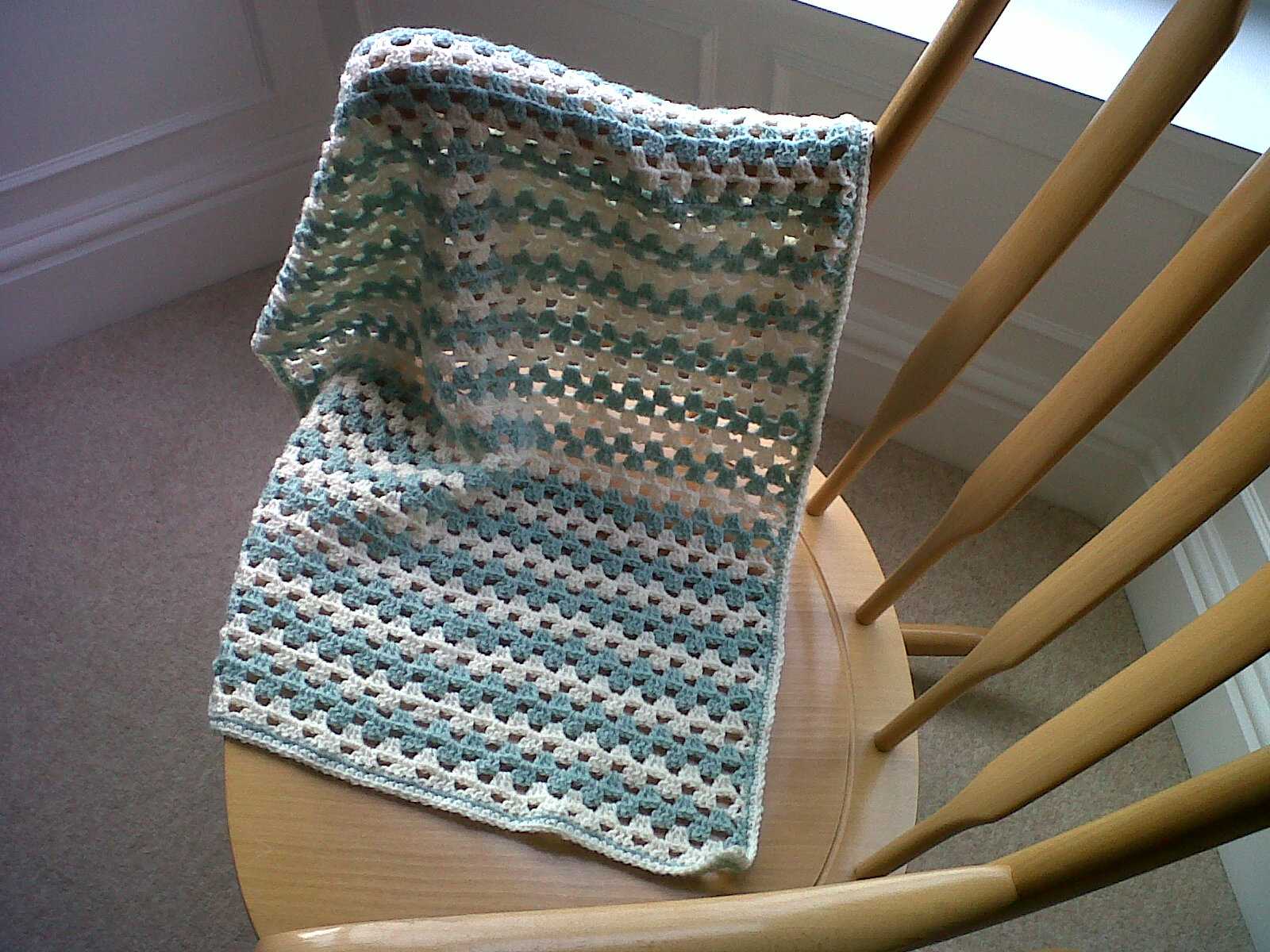 Grace Paretree: Simple Crochet Baby Blanket Pattern