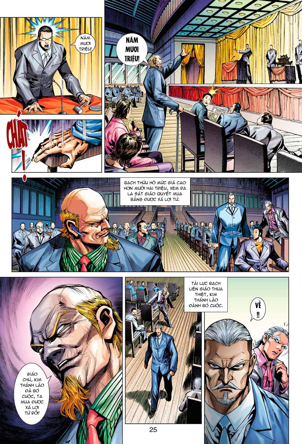 Tân Tác Long Hổ Môn chap 369 - Trang 25