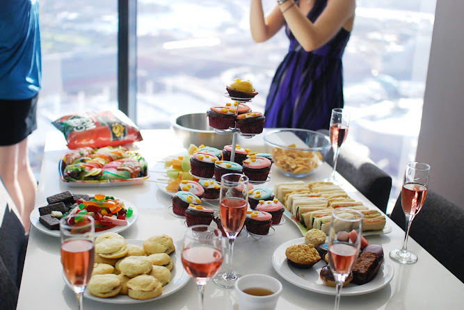 Hens Bridal Wedding Party Ideas Morning Tea Brunch