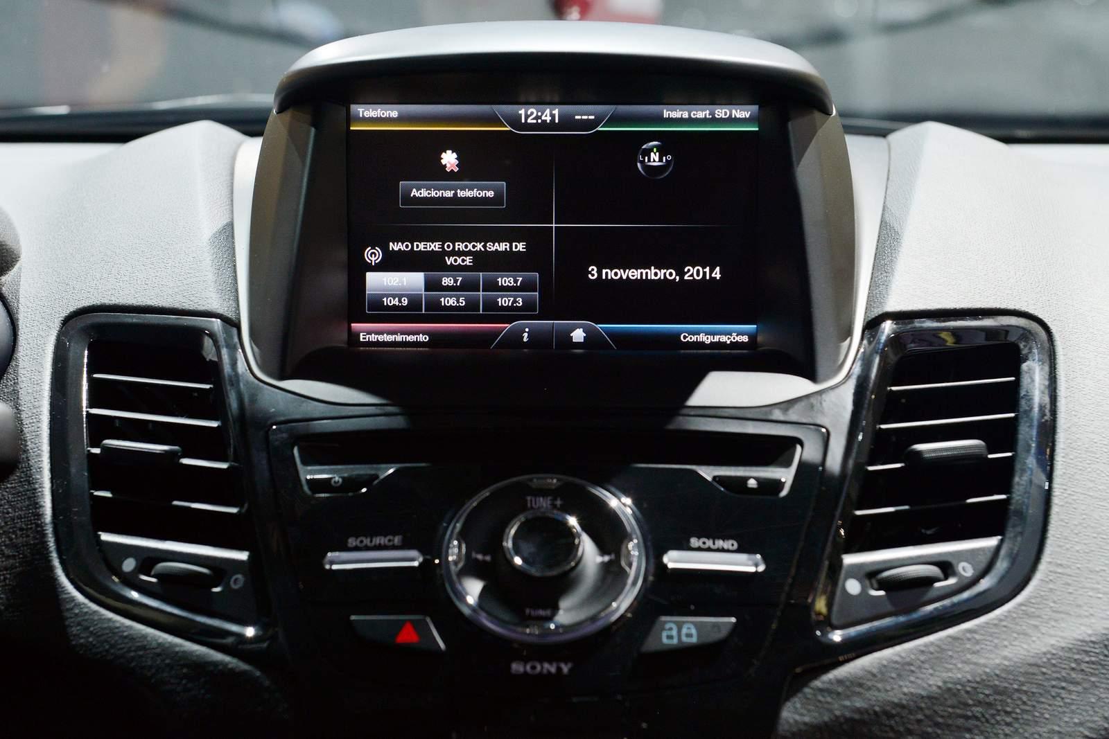 Ford New Fiesta Sedan Titanium Plus 2015 - interior