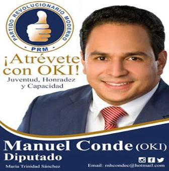 MANUEL CONDE CABRERA: ''EL DIPUTADO DE ESTE TIEMPO''
