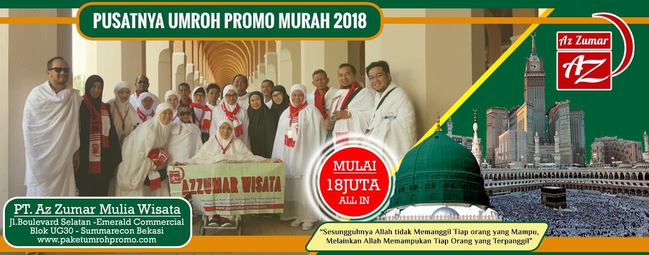 Paket Promo Umroh Murah 2018 - Azzumar 081384211114