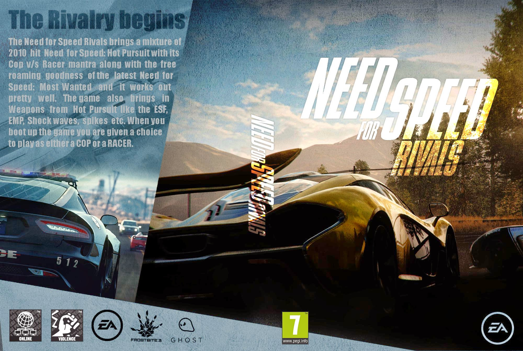 Capa Need For Speed Rivals PC
