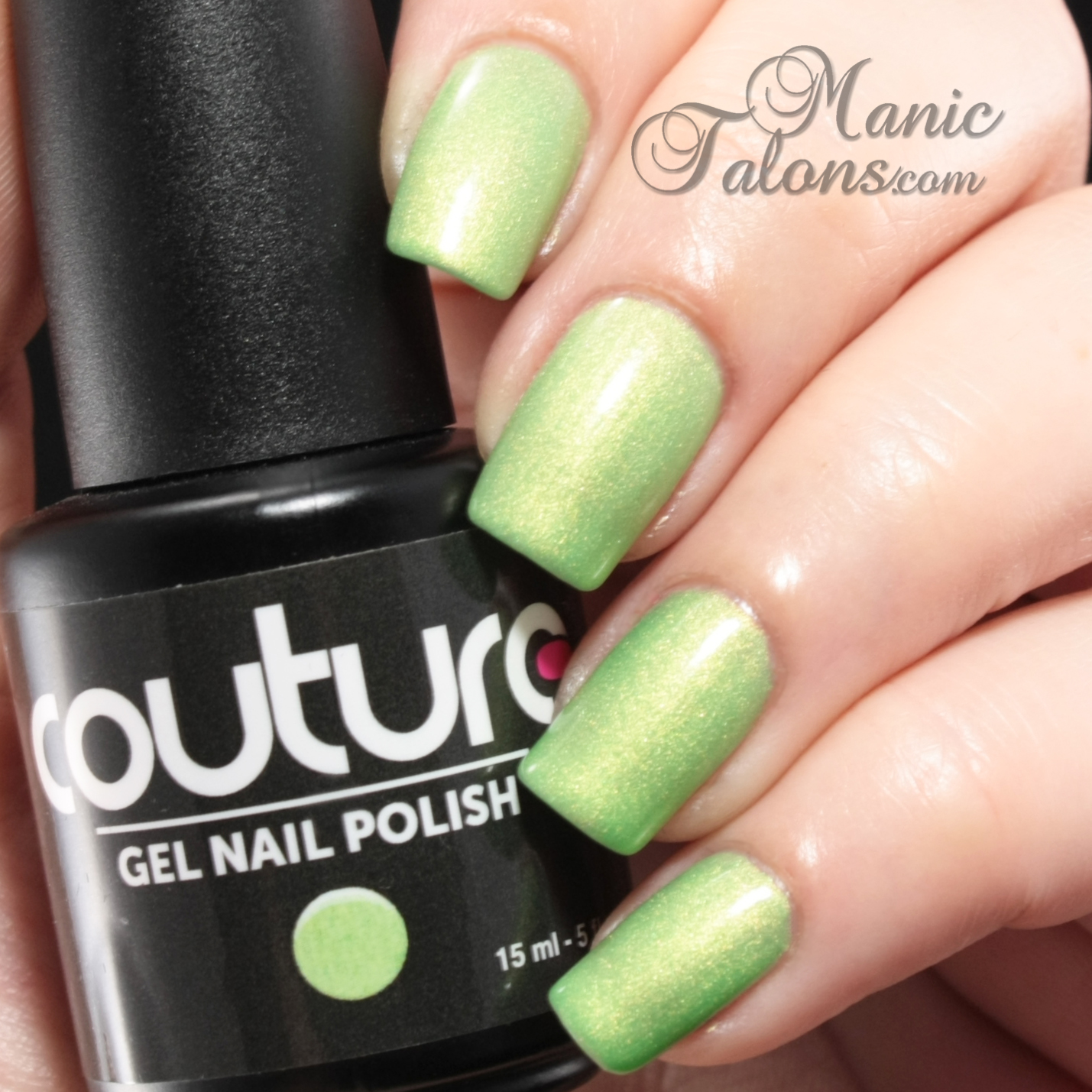 Couture Soak Off Gel Polish Green With Envy Swatch