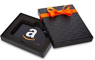 Amazon.in Black Gift Card Box