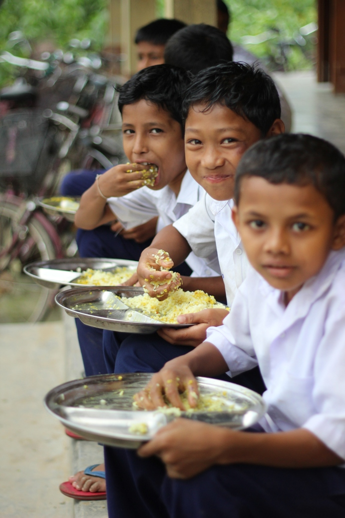 Mid-day meal in assam