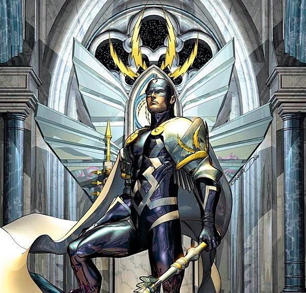 Rayo Negro rey de Attilan