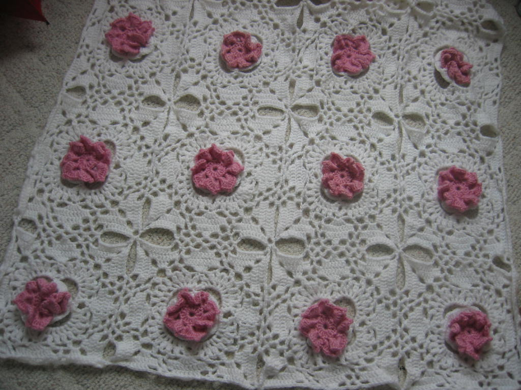 Crochet flower throw free pattern dancox for donnas crochet designs blog of free patterns free bankloansurffo Images