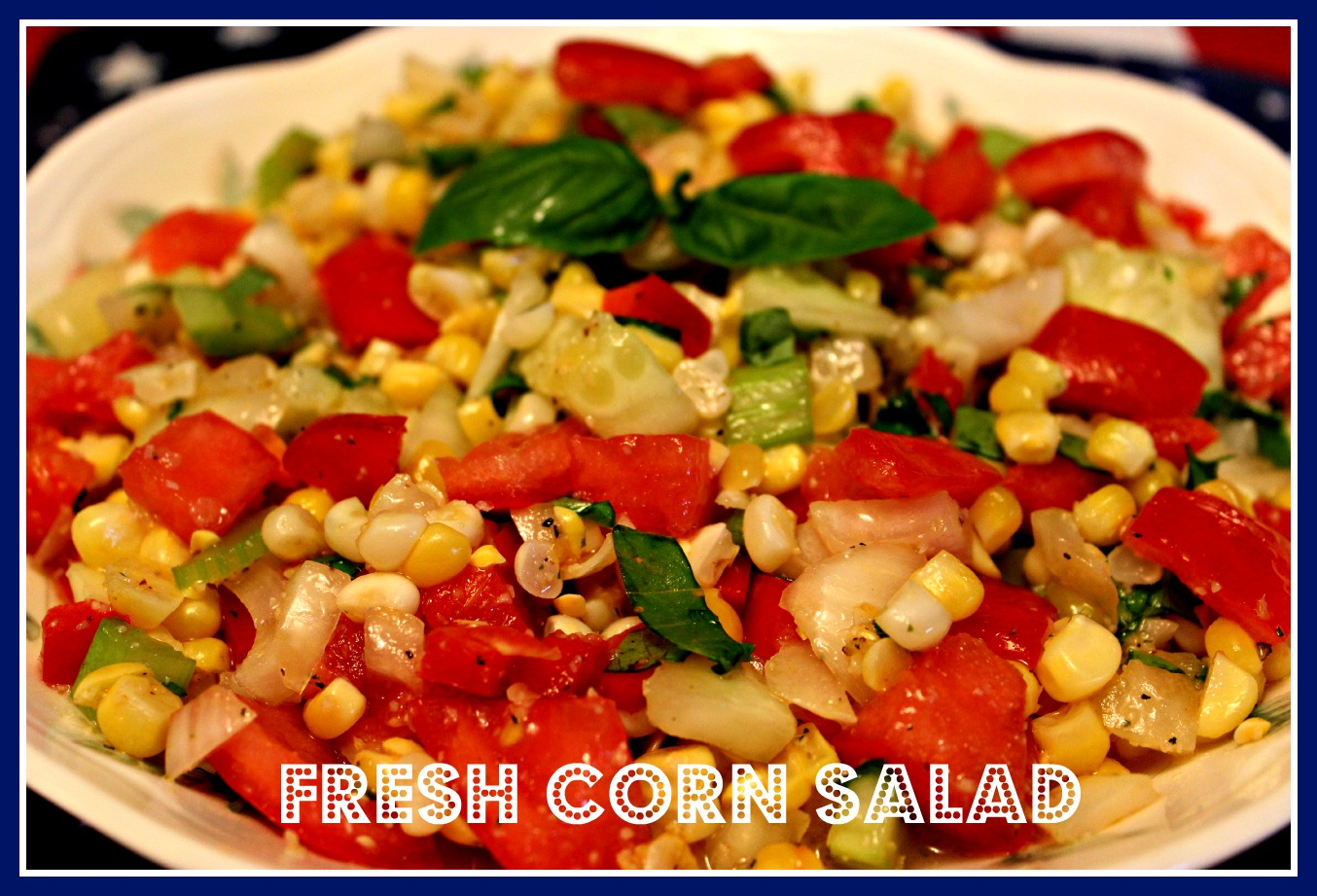 Sweet Corn Salad Recipe — Dishmaps