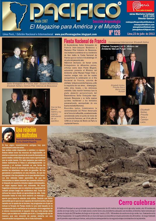 Revista Pacífico Nº 128 Arqueología