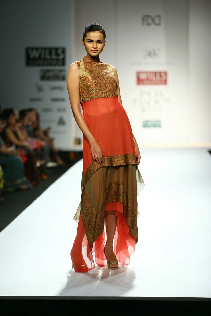Ashima Leena Show At Wills Lifestyle India Fashion Week