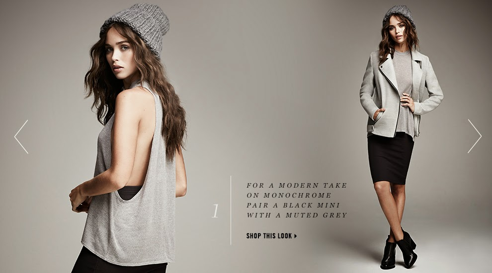Forever 21 'Greyscale' Lookbook Fall/Winter 2014