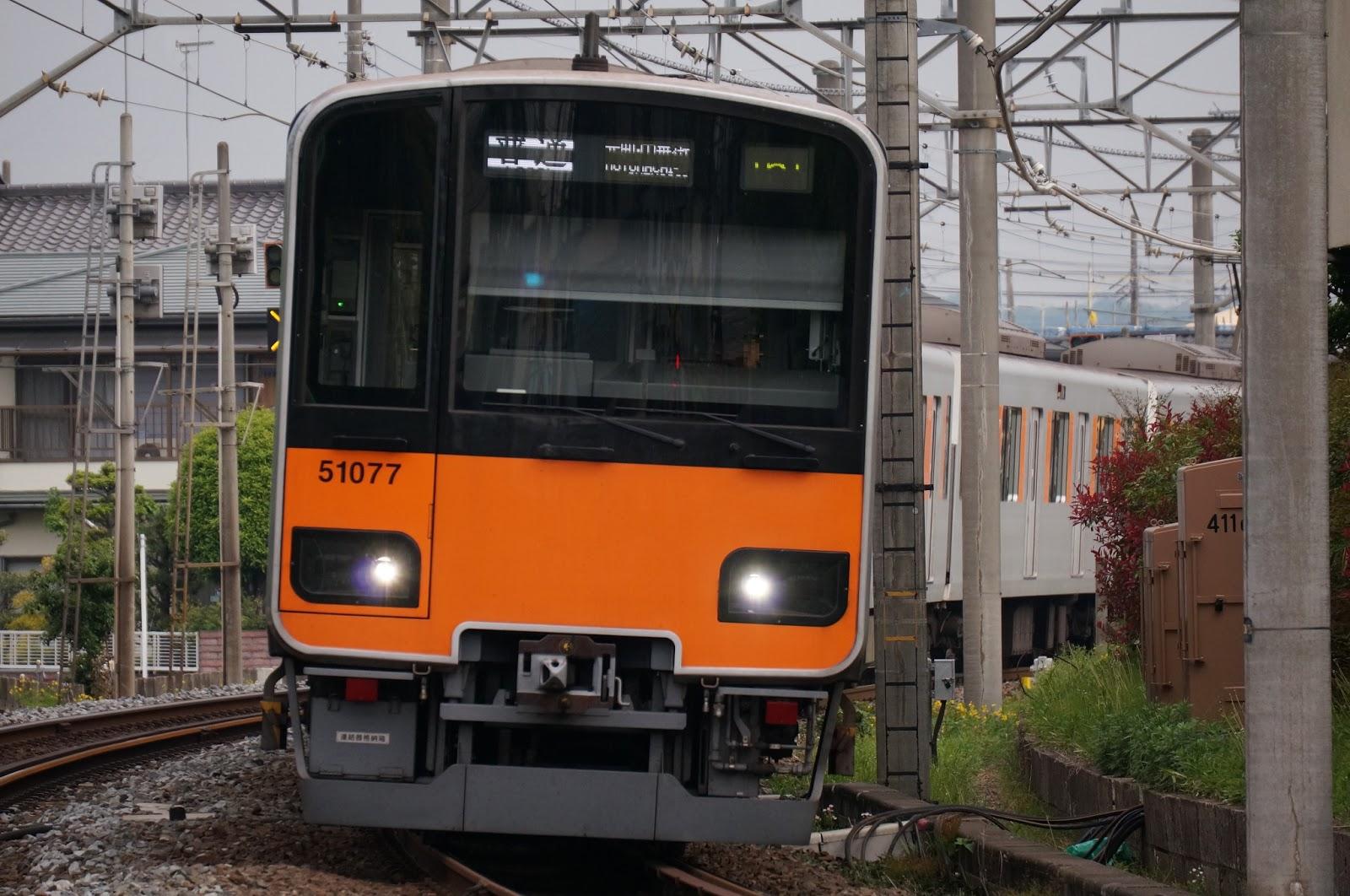 東武東上線を走る50070系