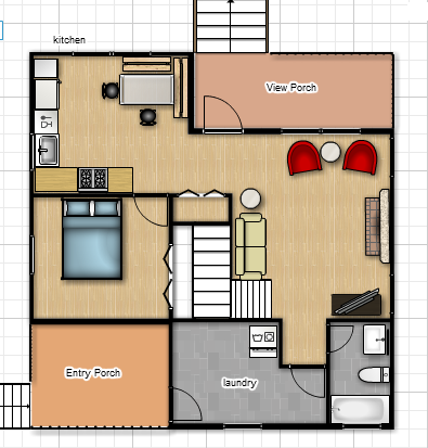 Here S The Layout Of The House As Is