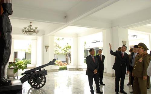 RI - Korea Utara Tingkatkan Kerjasama Militer
