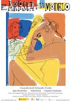 Cartel de la película 'El artista y la modelo'