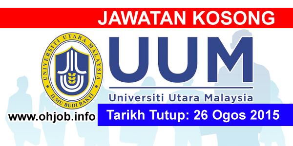 Jawatan Kerja Kosong Universiti Utara Malaysia (UUM) logo www.ohjob.info ogos 2015