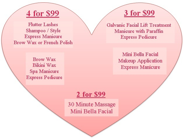 Bellezza Buzz Valentine S Day Spa Special Packages