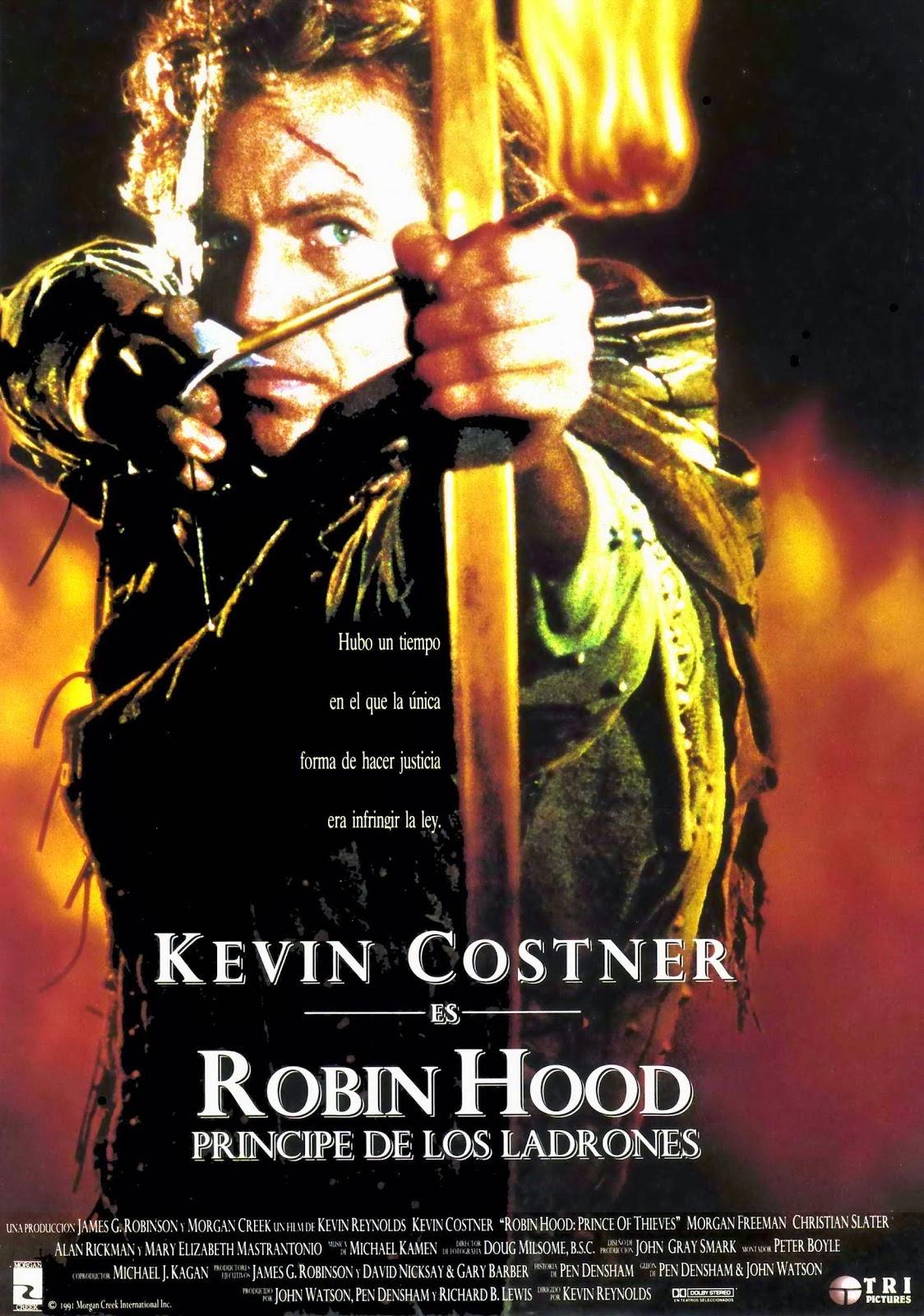 Robin Hood, el príncipe de los ladrones