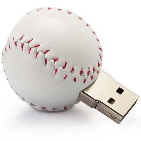 Baseball USB flash drive