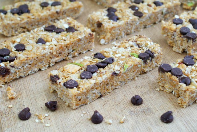 Homemade Chewy No-Bake Granola Bars
