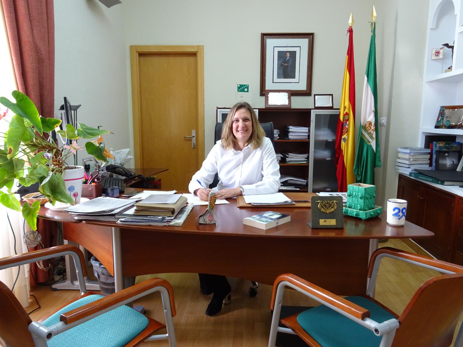 El despacho de la alcaldesa de Ubrique