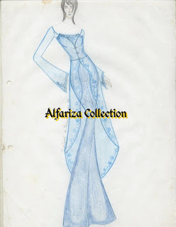 Fashion sketsa original handwriting