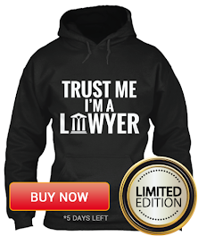 Trust Me-I'm a Lawyer - Limited Edition Hoodie only for this holiday
