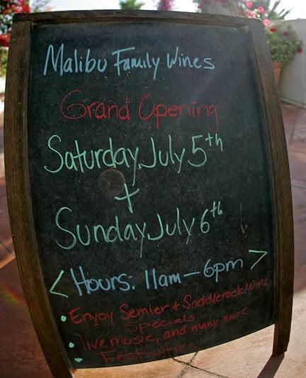 Malibu Family Wines Angeles National Tasting Room