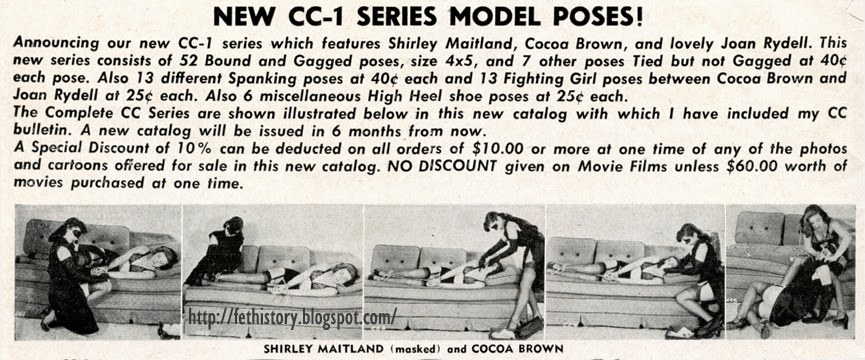 CC-1 series featuring Shirley Maitland and Cocoa Brown