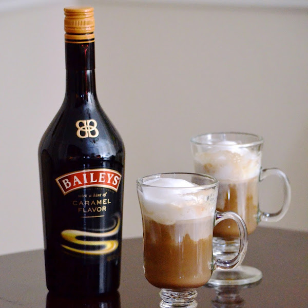 Spiked Coffee with Bailey's and Kahlua