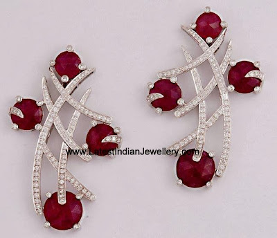 Stylish Diamond Earrings