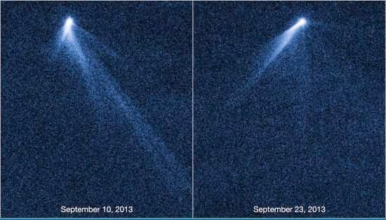 Um asteroide com 6 caudas pode ser chamado de cometa?