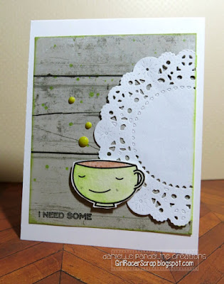 Coffee Lovers | Create A Smile Stamps | Created by Danielle Pandeline