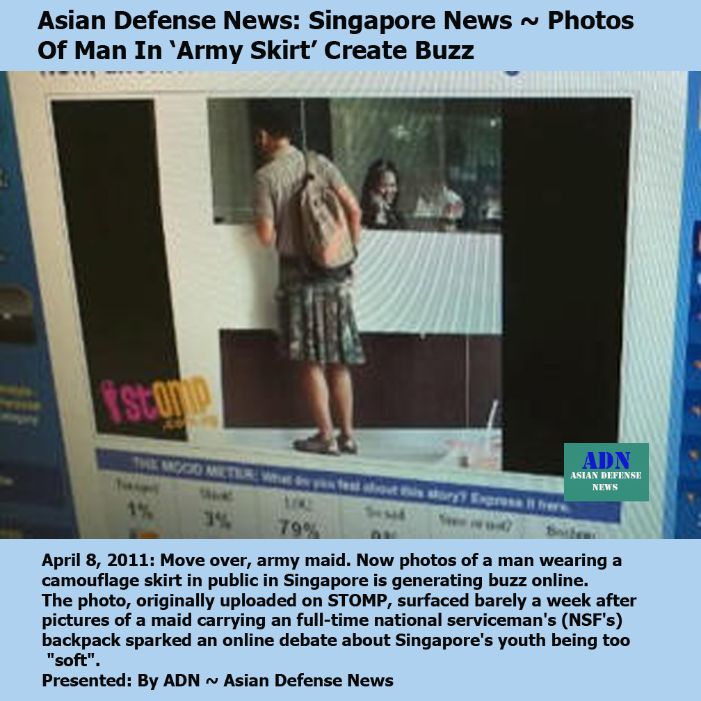 Pictures of The Day: Asian Defense News: Singapore News ~ Photos ...
