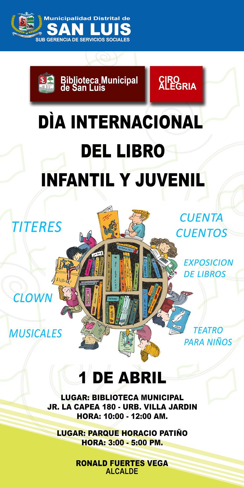 Celebración del Día del Libro Infantil y Juvenil 2015