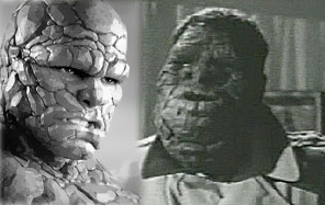 Comparison of Alex Marsh and The Fantastic Four's Thing