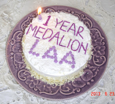 1st 1 year of sobriety MEDALLION (cake)