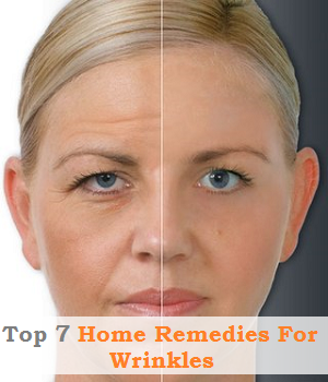Top 7 Home Remedies For Wrinkles
