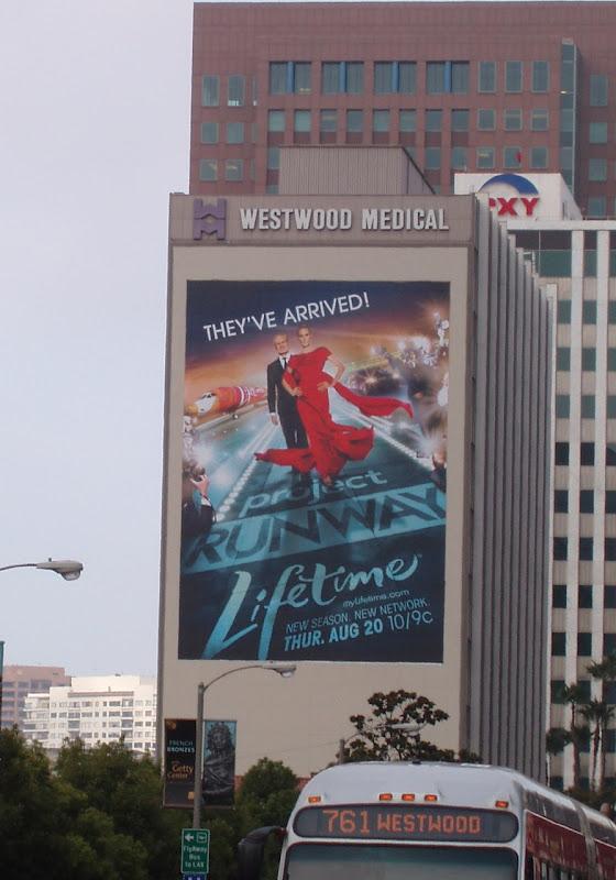 Giant Project Runway season 6 billboard