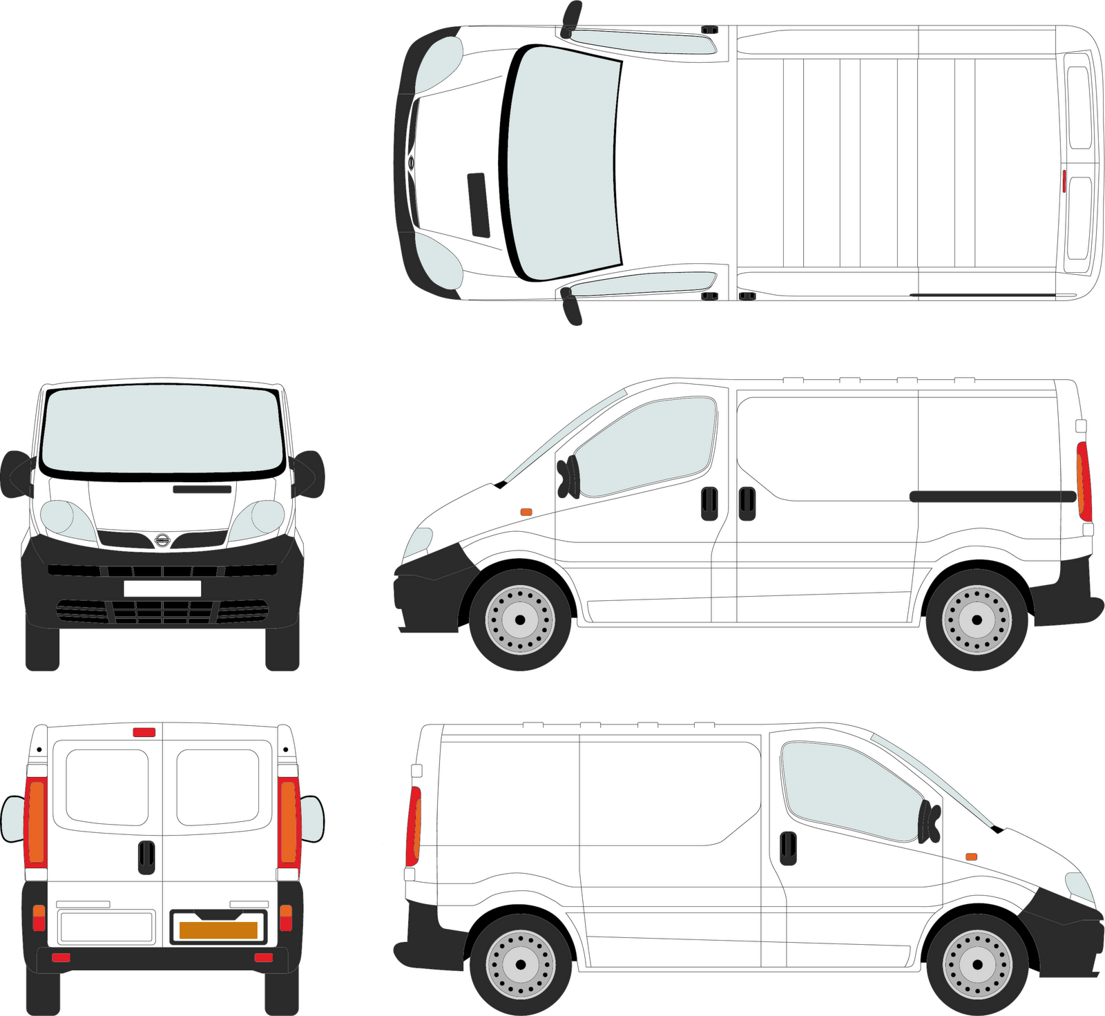 Kinetic rush shop blog we have a new van for Van sign writing templates