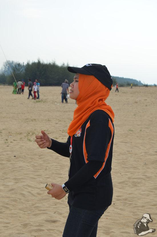 Foto Awek di Pesta Wau Antarabangsa Kelantan