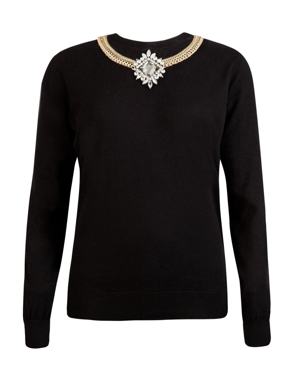 ted baker necklace jumper