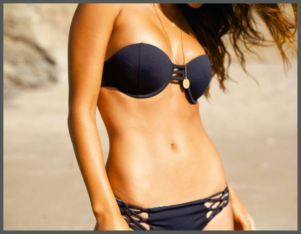San Lorenzo Bikinis 'La Boheme' Spring 2015 Lookbook featuring Yara Khmidan