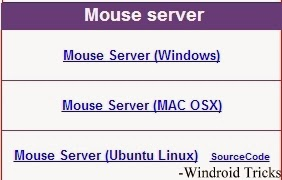 Mouse Servers for PC