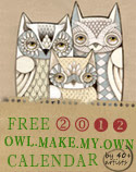 <b>Owl Lover 2012 Calendar FREE!</b>