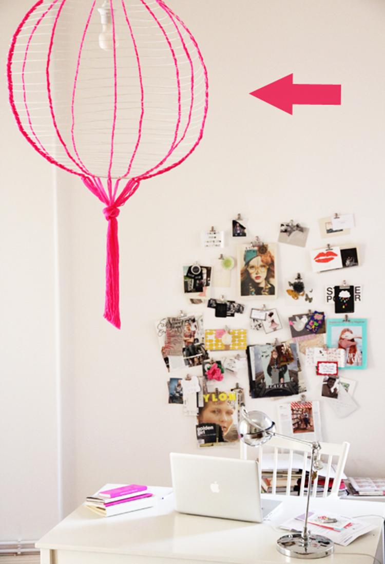 diy monday neon ohoh blog. Black Bedroom Furniture Sets. Home Design Ideas