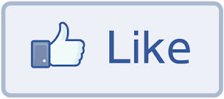 Facebook LIKE button with thumbsup